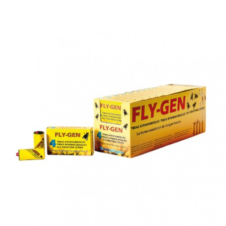 Tiras Adhesivas Atrapamoscas Fly-Gen