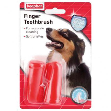 Cepillo Dental de Dedos para Perros