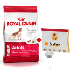 PACK Royal Canin Medium Adult + Scalibor 65cm