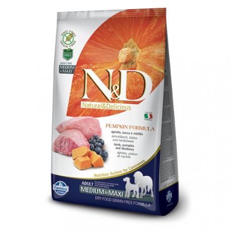 Farmina Natural & Delicious Calabaza Adulto Medium & Maxi Corder