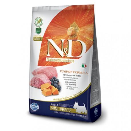 Farmina Natural & Delicious Calabaza Adulto Mini Cordero y Aránd
