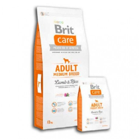 Brit Care Adult Cordero y Arroz Razas Medianas
