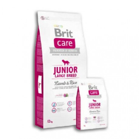 Brit Care Junior Cordero y Arroz Razas Grandes