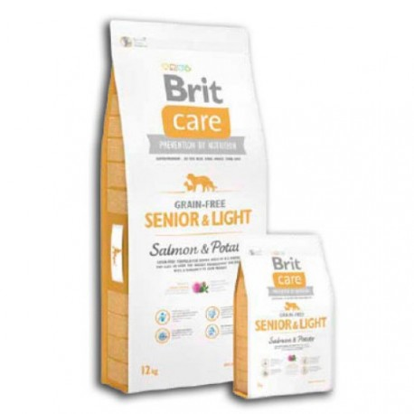 Brit Care Senior/Light Grain Free Salmón y Patata