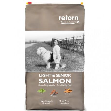 Retorn Canine Light Senior Salmón