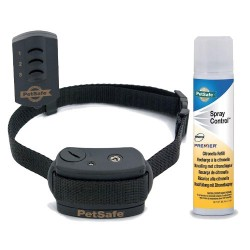 Collar Antiladrido Spray Petsafe 85m para perros