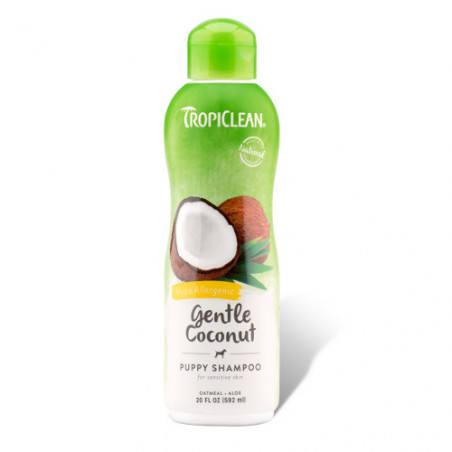 TropiClean Natural Champú Gentle Coconut Puppy 355ml
