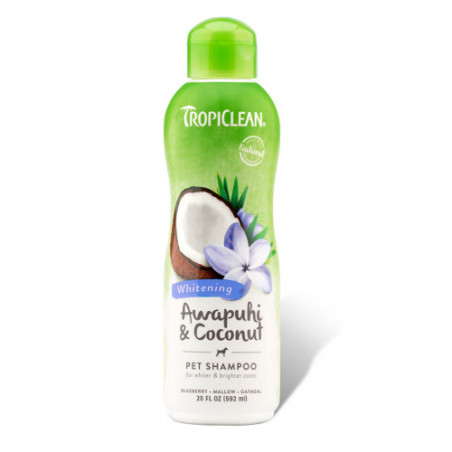 TropiClean Natural Champú Awapuhi Coconut 355ml