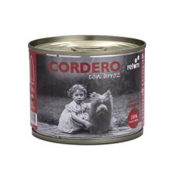 Retorn Lata de Cordero con Arroz para Perros