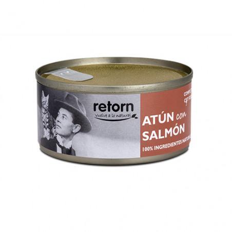 Retorn Lata de Atún con Salmón para Gatos 80g