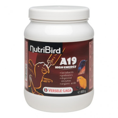 Nutribird A19 - High Energy fórmula de cría a mano 800g