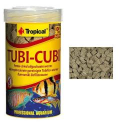 Alimento para peces Tubi Cubi gusanos tubifex liofilizados