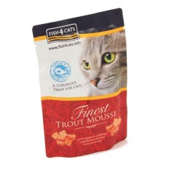 Fish4cat mousse de trucha para gatos