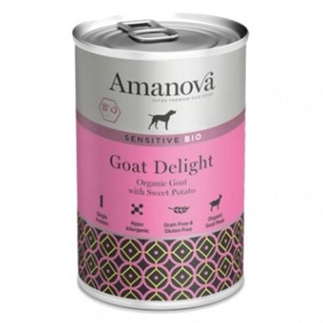 Amanova Bio Grain Free con cabra, calabacín y batata