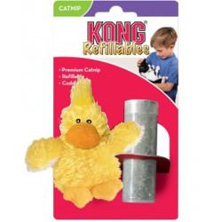 Kong Patito rellenable de hierba catnip