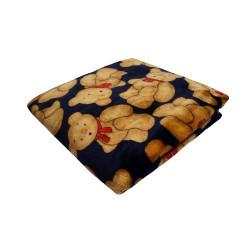 Manta cobertora Winter con ositos para mascotas
