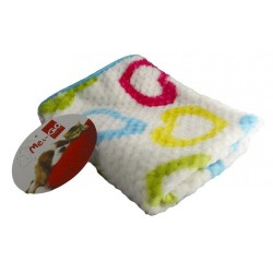 Manta cobertora Basic con corazones para mascotas
