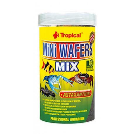 Tropical Mini Wafers Mix para peces