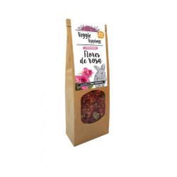 Veggie Toppings flores de rosa para roedores