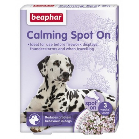 Pipetas Calming Spot On anti estrés para perros