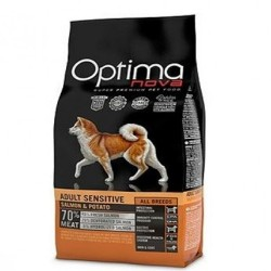 Optima Nova Adult Sensitive Salmón y Patata