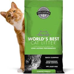 Arena para gatos World's Best Bio aglomerante rápido