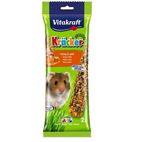 Vitakraft Hamster Barritas Miel & Sésamo