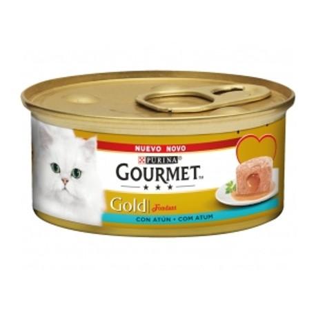 Purina gourmet gold fondant con atún 85grs