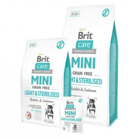 Brit Care Mini Grain Free Light & Sterilised
