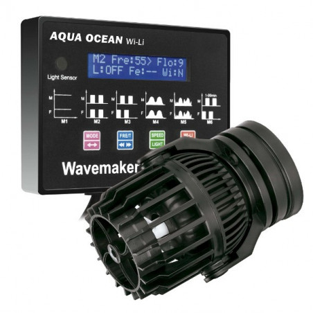 Generadores de olas y corrientes Aqua Ocean Wi-Li