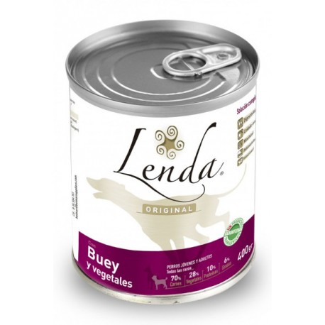 Lenda Original Lata buey y guisantes Grain Free
