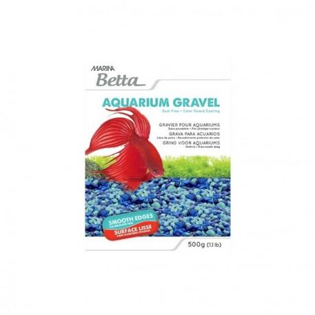 Grava para acuarios de Betta azul