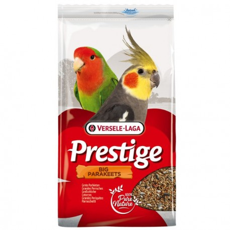 Prestige Big Parakeets comida para cotorras y ninfas