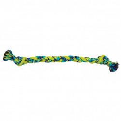 Juguete K9 Fitness de Zeus Rope y TPR Braided Bone para perros