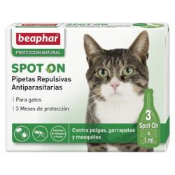 Pipetas repulsivas para gatos Beaphar