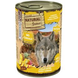 Lata natural greatness de canguro y mango con espirulina 400grs