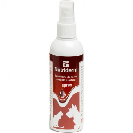 Nutriderm loción dérmica spray para perros y gatos