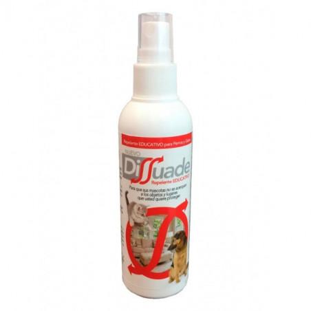 Dissuade spray repelente para mascotas