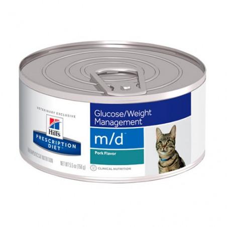 Hills Prescription Diet Feline Diabetic m/d Lata 156gr