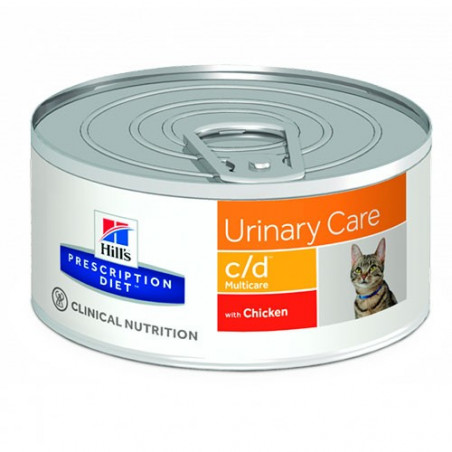 Hill's Prescription Diet Feline c/d Latas 156g
