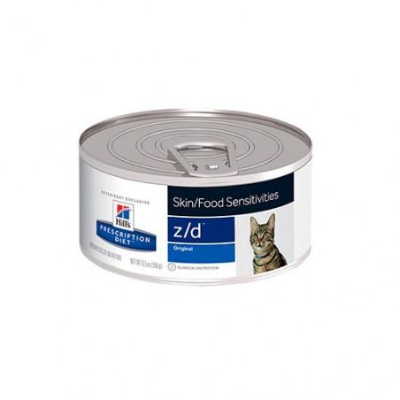 Hills Feline Diet Low Allergen-Free Z/D feline lata 156grs