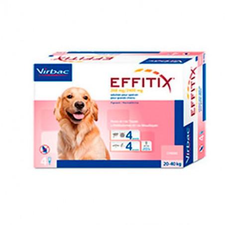 Antiparasitario externo Effitix perros grandes 20-40 Kg