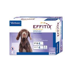 Antiparasitario externo Effitix perros medianos 10-20 Kg