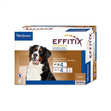 Antiparasitario externo Effitix perros muy grandes 40-60 Kg