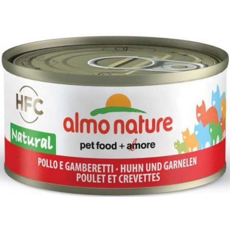 Almo Nature HFC Pollo con Gambas para Gatos 70g