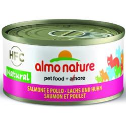 Almo Nature HFC Pollo con Salmón para Gatos
