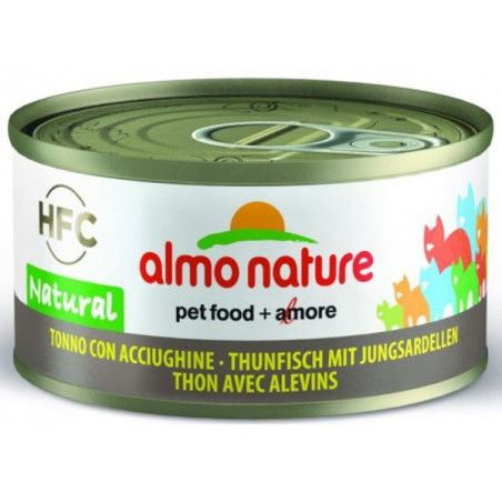 Almo Nature HFC Atún con Alevines para Gatos