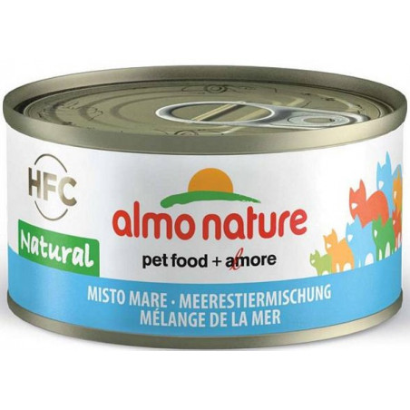 Almo Nature HFC Mixto Frutos del Mar Gelatina para Gatos 70g