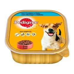 Pedigree tarrina cordero y pollo 300gr