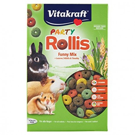 Vitakraft Party Rollis Snack para roedores